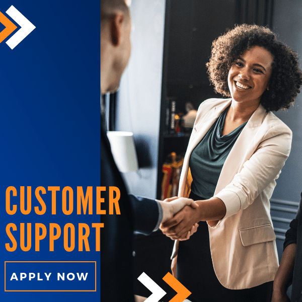 Apply for customer Support executive
