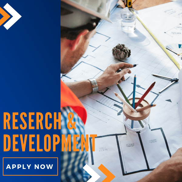 Apply for research and development