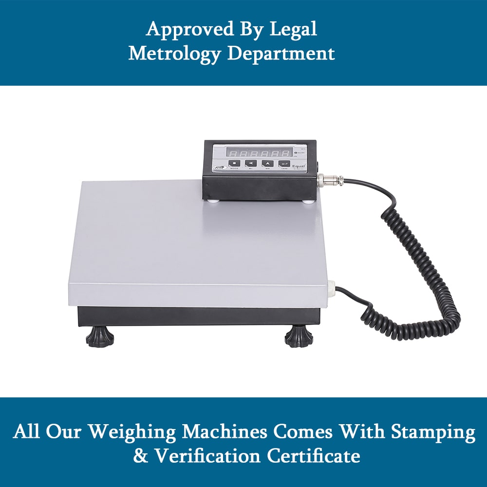 EQUAL Digital Kitchen Electronics Weighing Scale for Home, Shop and Kitchen, 50 Kg Capacity