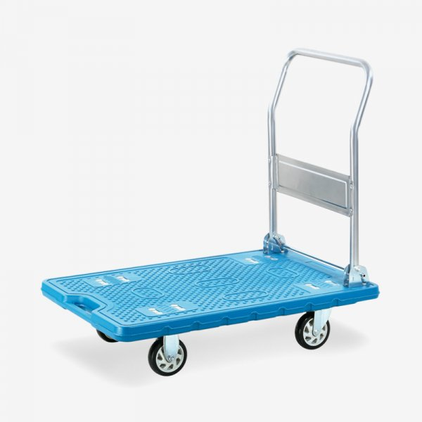 EQUAL Material Handling Ant slip Folding Platform Trolley for Heavy Weight, 300Kg Capacity, 90 x 60 CM Size