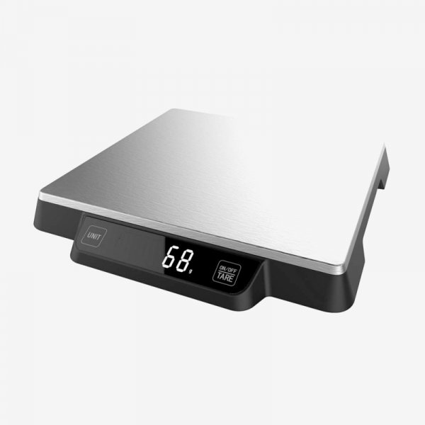 EQUAL Ultra Slim Digital Kitchen & Food Weighing Scale with Large Capacity (15 Kg)