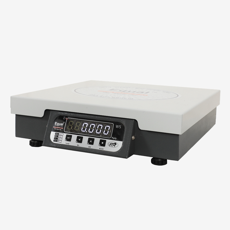 EQUAL Digital Kitchen Weighing Scale for Home, Shop and Kitchen, 50 Kg Capacity, White LED Display