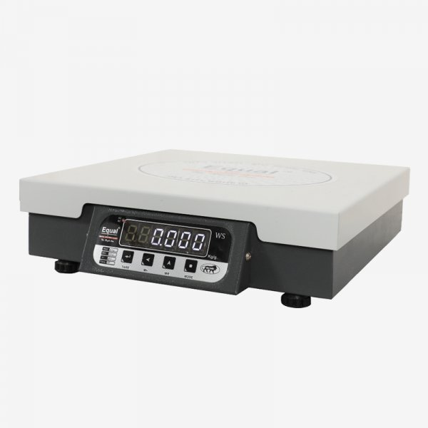 EQUAL Digital Kitchen Weighing Scale for Home, Shop and Kitchen, 50 Kg Capacity, White LED display, Make in India with 01 year Warranty