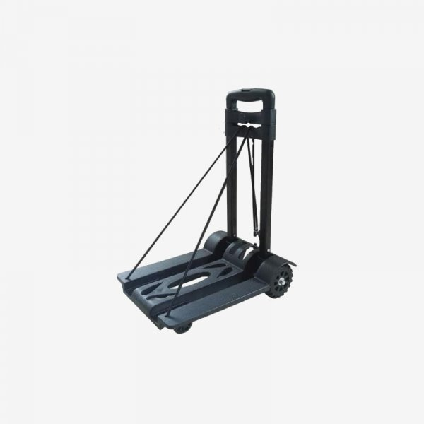 Portable Platform Hand Trolley, 25 Kg Heavy Duty 4-Wheel Solid Construction Utility Cart