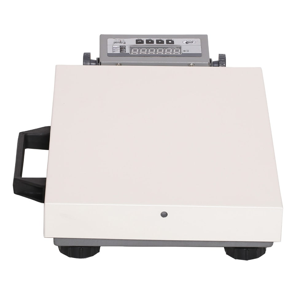 EQUAL Heavy Duty Digital Weighing Scale For Home, Shop & Industries, 100Kgs, White